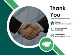 Thank You Ppt PowerPoint Presentation Portfolio Designs
