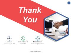 Thank You Ppt PowerPoint Presentation Slides Brochure