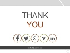 Thank You Ppt PowerPoint Presentation Slides Download