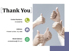 Thank You Ppt PowerPoint Presentation Slides Example