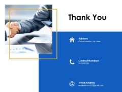 Thank You Presentation About Yourself Ppt Powerpoint Presentation Ideas Influencers