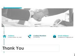 Thank You Procurement Risk Management Ppt PowerPoint Presentation Summary Demonstration