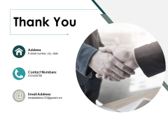 Thank You Project Deliverables Ppt PowerPoint Presentation Icon Example Topics