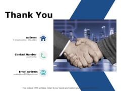 Thank You Project Governance Framework Ppt PowerPoint Presentation Pictures Good