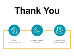 Thank You Risk Assessment And Mitigation Plan Ppt PowerPoint Presentation File Template