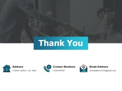 Thank You Risk Return Trade Off Ppt PowerPoint Presentation Layout
