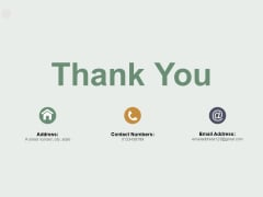Thank You Roi Calculation Ppt PowerPoint Presentation Slides Demonstration