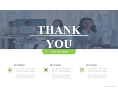 Thank You Slide Business Team Design Powerpoint Slides