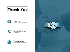 Thank You Supply Chain Management Process Ppt Powerpoint Presentation Pictures Visuals