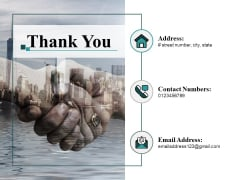 Thank You Testimonial Analysis Ppt PowerPoint Presentation Gallery Slide