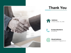 Thank You Transformation Map Ppt PowerPoint Presentation Infographics Structure