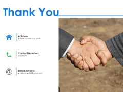 Thank You Work Experience Ppt PowerPoint Presentation Model Guide