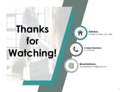 Thanks For Watching Contribution Ppt PowerPoint Presentation Model Background Image