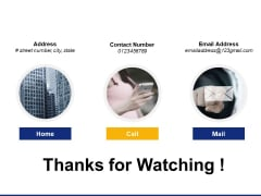 Thanks For Watching Digital Transformation Strategy Ppt PowerPoint Presentation Infographics Smartart