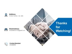Thanks For Watching Employee Promotion Ppt PowerPoint Presentation Summary Inspiration
