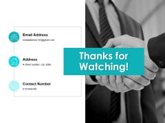 Thanks For Watching Hurdles And Solutions Ppt PowerPoint Presentation Ideas Gridlines