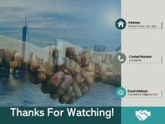 Thanks For Watching Ppt PowerPoint Presentation Inspiration Example Introduction
