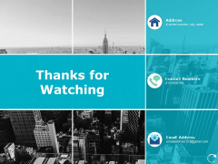 Thanks For Watching Succession And Career Planning Ppt PowerPoint Presentation Outline Design Templates