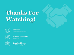 Thanks For Watching Time Management Ppt PowerPoint Presentation Show Design Inspiration