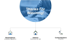 Thanks For Watching Types Of Waste In Lean Manufacturing Ppt PowerPoint Presentation Show Shapes