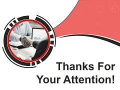 Thanks For Your Attention Ppt PowerPoint Presentation Model Example Topics