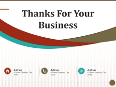Thanks For Your Business Ppt PowerPoint Presentation Styles Background Image
