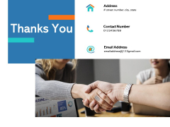 Thanks You New Product Performance Cost Analysis Ppt PowerPoint Presentation Infographic Template Summary