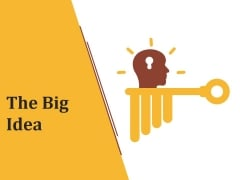 The Big Idea Ppt PowerPoint Presentation Show