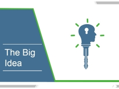 The Big Idea Ppt PowerPoint Presentation Themes