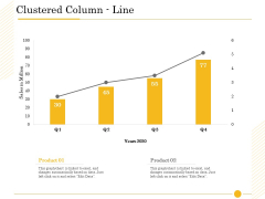 The Fishbone Analysis Tool Clustered Column Line Ppt Pictures Guidelines PDF