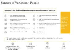 The Fishbone Analysis Tool Sources Of Variation People Pictures PDF