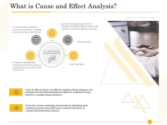 The Fishbone Tool What Is Cause And Effect Analysis Effective Sample PDF