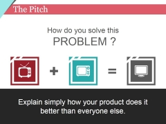 The Pitch Template 1 Ppt PowerPoint Presentation Infographic Template Background Images