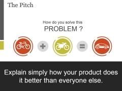 The Pitch Template 1 Ppt PowerPoint Presentation Infographic Template