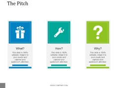 The Pitch Template 1 Ppt PowerPoint Presentation Inspiration