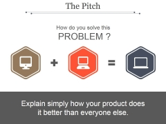 The Pitch Template 1 Ppt PowerPoint Presentation Topics