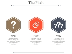 The Pitch Template 2 Ppt PowerPoint Presentation Example 2015