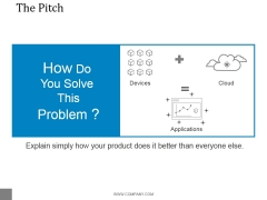 The Pitch Template 2 Ppt PowerPoint Presentation Infographic Template