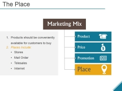 The Place Ppt PowerPoint Presentation Summary