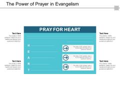 The Power Of Prayer In Evangelism Ppt Powerpoint Presentation Visual Aids Portfolio