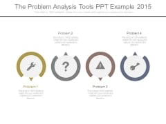 The Problem Analysis Tools Ppt Example 2015