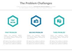 The Problem Challenges Ppt Slides