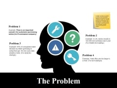 The Problem Ppt PowerPoint Presentation Infographic Template Background Designs