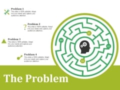 The Problem Ppt PowerPoint Presentation Layouts Layouts