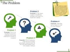 The Problem Ppt PowerPoint Presentation Outline Deck