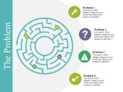 The Problem Ppt PowerPoint Presentation Portfolio Designs