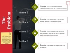 The Problem Ppt PowerPoint Presentation Professional Example