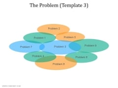 The Problem Template 3 Ppt PowerPoint Presentation Ideas Skills