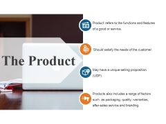 The Product Ppt PowerPoint Presentation Slides
