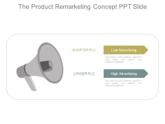 The Product Remarketing Concept Ppt Slide